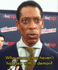 Because we were given Sleepy Hollow and, more importantly, Orlando Jones. | 51 Reasons 2013 Was The Best Year Ever To Be A Nerd