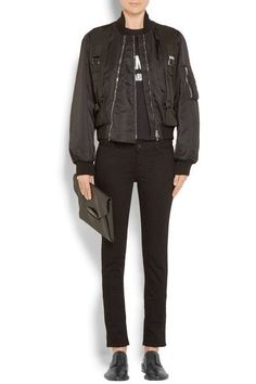 Givenchy - Chain-trimmed Leather Brogues - Black - IT