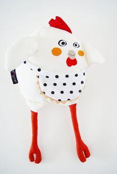 Chicken Plush by milipa