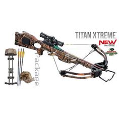 Tenpoint Titan Xtreme Crossbow 3x Pro-View 2 Scope Package
