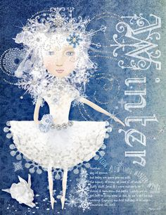 Art Journaling - Winter - Rebecca McMeen