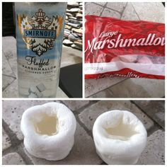 Mallow lovers: edible marshmallow shots ? who's game for trying these with me ? oh the possibilities !!! @ddlicious22 awesomeness!!!!!!