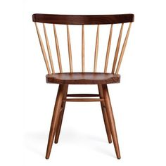 Knoll ® George Nakashima Straight Back Chair