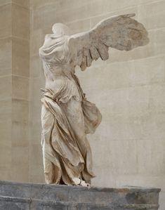 La Victoire de Samothrace, 190 av. J-C, musée du Louvre