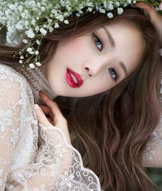 Korean magnificence Pony-Park Hye Min-Park Hye Min Pony-Korean make-up artist-Pony magnificence diar Korean Wedding Makeup, Korean Makeup Look, Korean Makeup Tips, Korean Makeup Tutorials, Asian Makeup, Korean Beauty, Bridal Makeup, Asian Beauty, Art Tutorials