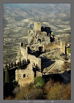 Castillo de la Iruela, Jaén, Andalucía - Spain                              …