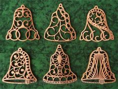 SLDK223 - Filigree Bell Ornaments