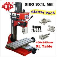 SIEG SX1L Mill Starter Pack