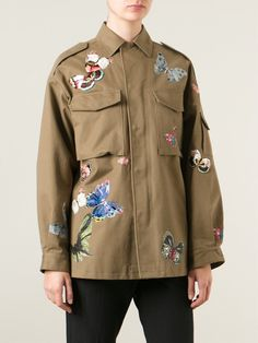 Valentino Stitched Butterfly Jacket - Apropos The Concept Store - Farfetch.com