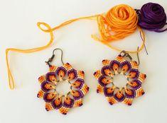Плетеные украшения в технике макраме Knotted World