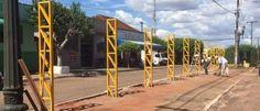 Ponto de Táxi em Paraná do Oeste começa a ser reformado