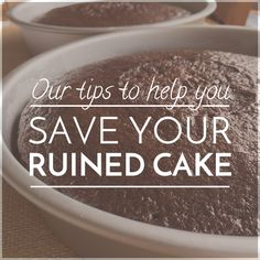 How to save a ruined cake - easy ways! #sobakeable #foodblog #cakes