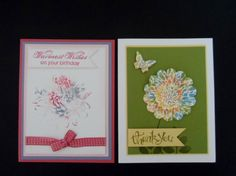 VIDEO-week 10 techniques series by lisacurcio2001 - Cards and Paper Crafts at Splitcoaststampers