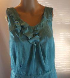 Ann Taylor LOFT Women's Dress Seafoam Green Size 10 Date Nite Church | eBay