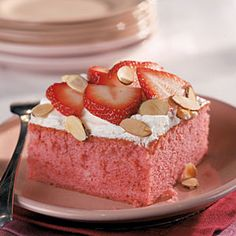 Southern Recipes Inspired by The Help  | Fresh Strawberry Cake | MyRecipes.com