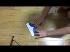 小さい子でも簡単に作れてよく飛ぶ小さい紙飛行機 - YouTube