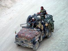 Land Rover Defender 90 Italian Army SOF Afghanistan