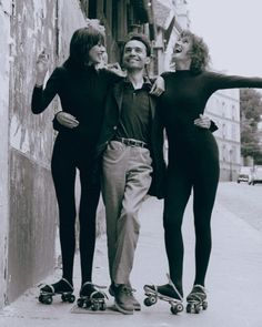 Jacques Rivette with Juliet Berto and Dominique Labourier, Celine and Julie Go Boating (1974).