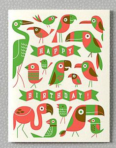 Oh So Beautiful Paper: Greeting Cards A – Z: Kids Birthday Cards