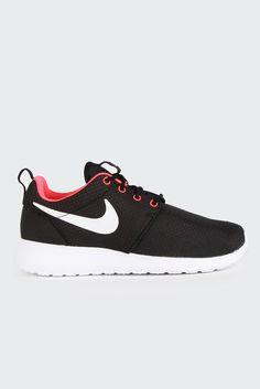 GOOD AS GOLD   Online Clothing Store   Mens & Womens Fashion   Streetwear   NZ — Womens Roshe Run - black/white-hyper punch   Nike