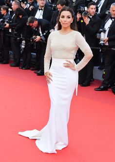 Eva Longoria debuted some her best fashion choices yet at the 2016 Cannes Film Festival.