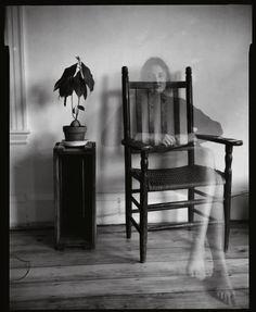 Susan Meiselas  - Self Portrait. 44 Irving St. Cambridge, MA. USA. 1971.