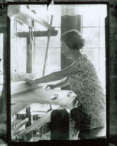 """Miss Lucy"" Morgan   Penland School of Crafts + Penland Weavers   Penland, North Carolina, U.S.A.   c. 1920-'39"
