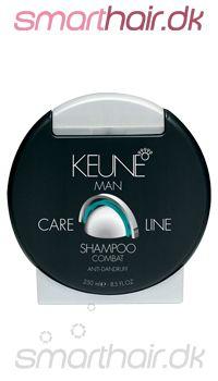 Keune Man Combat shampoo mod skælproblemer.