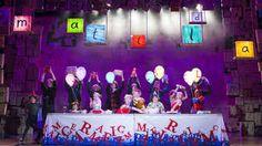 matilda the musical set
