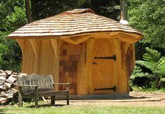 Lloyd's Blog: Luc's Log Sauna Shipped from Quebec to Australia