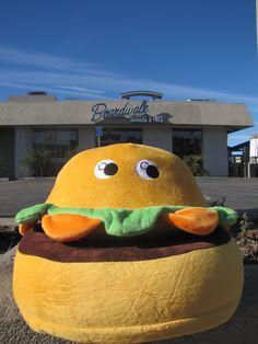Boardwalk Burgers and Fries - Hermosa Beach, CA #burger  #crittercushions  #boardwalkburgers  #kidschair  #toddlerchair