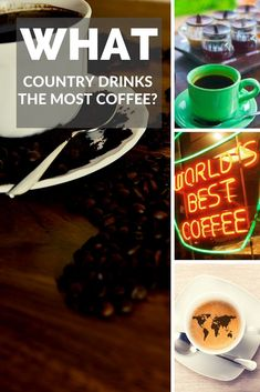 Which Country Drinks the Most Coffee per Inhabitat. We all wonder which country drinks the most coffee. Real Coffee, Coffee Barista, Coffee Humor, Coffee Quotes, Coffee Drinks, Starbucks Coffee, Craft Storage Cabinets, Get Gift Cards, Food Truck Design