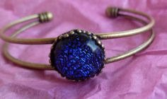 Princess Bracelet with Blue Celestial Crystal One by LinasThings, $26.00