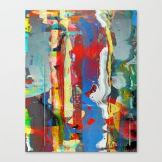 Untitled 20140128l Stretched Canvas by tchmo - $85.00