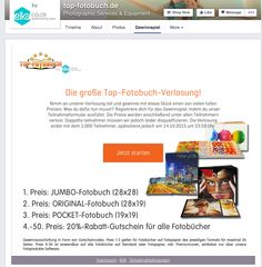 Top-fotobuch.de - Facebook - photo contest #Socialshaker