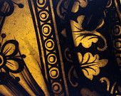 Antique Vestment, Religious Gothic Revival Stained Glass, Saint's Robe - Vines and Flowers, Church Window Fragment, Exquisite Artifact Church Windows, Hirst, Young Designers, Victorian Gothic, Beautiful Gifts, Black N Yellow, Tribal Tattoos, Stained Glass, Vines