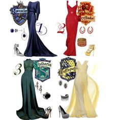 """""""The Houses"""" by alyssa-eatinger on Polyvore"""