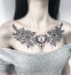 Your Ultimate Tattoo Pain Chart Bible for Tattoos – Tats 'n' Rings - tattoo tatuagem Cool Chest Tattoos, Chest Tattoos For Women, Chest Piece Tattoos, Pieces Tattoo, Chest Tattoo Female Upper, Back Piece Tattoo, Chest Tattoo Flowers, Thigh Tattoos For Women, Chest Tattoo With Words