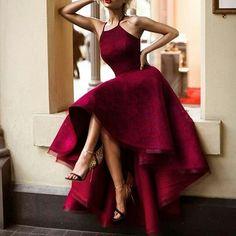 Imagem de fashion, dress, and red