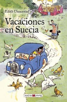 Títol: Vacaciones en Suecia. Autor: UNNERSTAD,Unnerstad. Editorial: Maeva. Resum: Per a la seva desesperació, Pelle, un nen de gairebé sis anys, es veu obligat a passar l'estiu amb la seva àvia paterna en el sud de Suècia, mentre la seva mare es recupera d'un accident de cotxe.