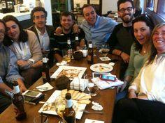 Peregrinos por Asturias + Fundación CTIC trabajando #peregrinos #asturias #innovacion #tweets #hoteles #CaminoSantiago