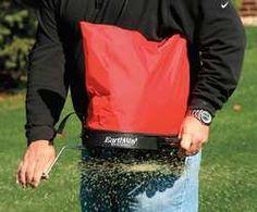 Handheld Broadcast Spreader, 25 Lb, 1 Hole, 2015 Amazon Top Rated Fertilizer Spreaders #Lawn&Patio