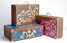 Le calligraphe tunisien 'eL Seed' collabore avec Louis Vuitton