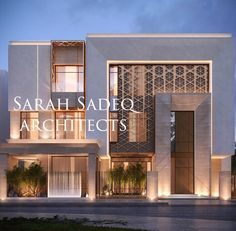 21 Ideas House Architecture Facade Screens For 2019 Modern House Facades, Modern Architecture House, Facade Architecture, Facade Design, Exterior Design, Architect House, Architect Logo, Architect Table, Architect Resume