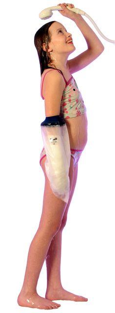 Gipsbescherming of gipshoes voor kinderen