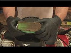Lawn Mower Repair : How to Clean a Lawn Mower Air Filter