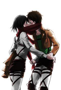 #Coloredbyme #ToukoWhiteGraphic #animecouple #Eren #Mikasa #MikaEren  Ita: Se la prendi, mettere i crediti.. grazie. Eng: If you take it, put the credits.. thanks.