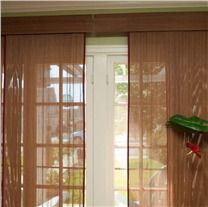 Platinum Collection Woven Wood Sliding Panels