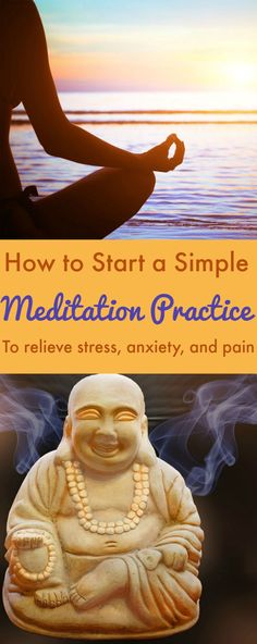 How to start a simple #meditation practice to relieve stress, anxiety, even pain // AGirlWorthSaving.net