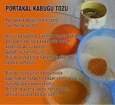 Portakal kabuğu tozunun yararları